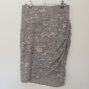 ✊🏽✊🏾✊🏿Wilfred Free Tyra Skirt, Grey, sz M